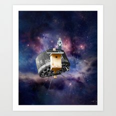 Space Bird Art Print