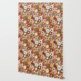 veneto boho spot amber Wallpaper