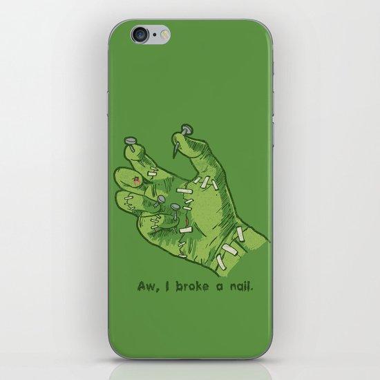 Frankenhand iPhone Skin