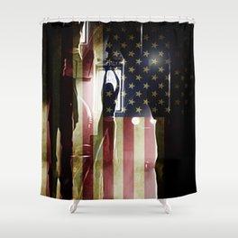 Casting Long Shadows Shower Curtain