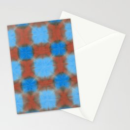Shibori (blue and brown) Stationery Cards