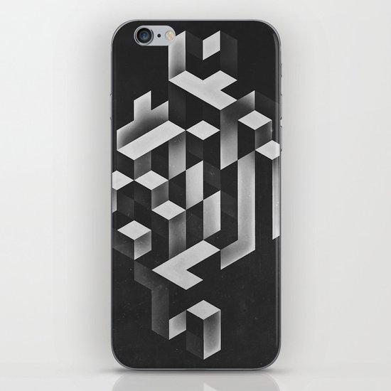isyhyrrt gryy iPhone & iPod Skin
