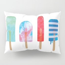 The Popsicle Lineup Pillow Sham