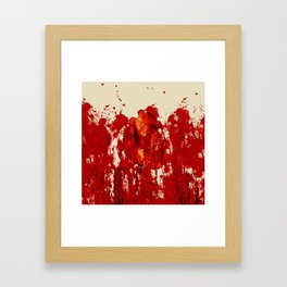 Blood Heart Framed Art Print