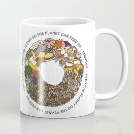 Feed the Planet Composting Wheel Coffee Mug