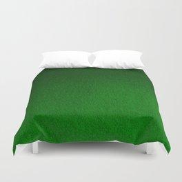 Emerald Green Ombre Design Duvet Cover