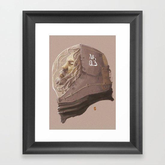 old survivor Framed Art Print