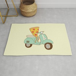 pizza delivery Rug
