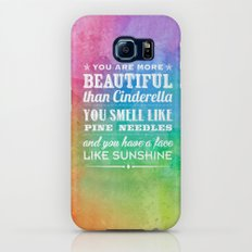 Sunshine Face Galaxy S7 Slim Case