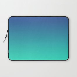 LUSH COVE - Minimal Plain Soft Mood Color Blend Prints Laptop Sleeve