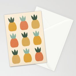 Pineapple Queens Stationery Cards