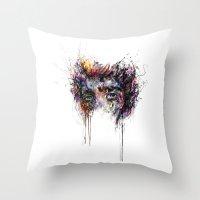 jake Throw Pillows featuring Jake Gyllenhaal by ururuty