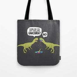 The Last Unicorn TRex Eaten Dino Gift Tote Bag
