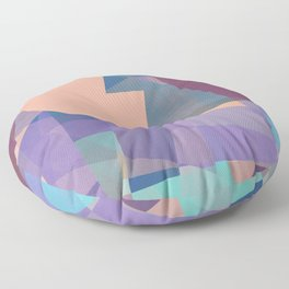 Splitting the Sun Floor Pillow