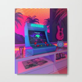 Arcade Dreams Metal Print