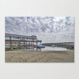 Fishing Haven. Canvas Print