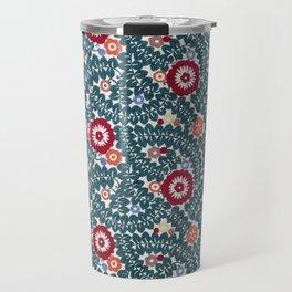 Wiener Werkstatte Textile Pattern, 1910 Travel Mug