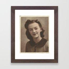 Grandma Gardner Framed Art Print
