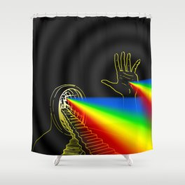 The Left Hand of Darkness (Variations) Shower Curtain