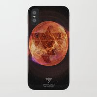 paramore iPhone & iPod Cases featuring Gravity Levels: Red Planet by Sitchko