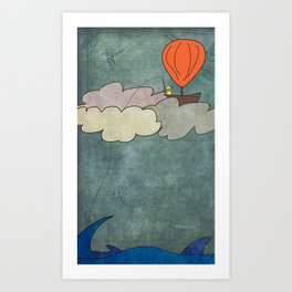 Smooth Sailing Art Print