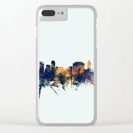 Tulsa Oklahoma Skyline Clear iPhone Case