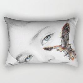 phoenix rises Rectangular Pillow