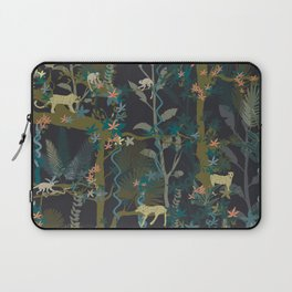 Tropical wild animals in the jungle Laptop Sleeve
