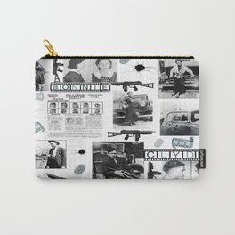 Bonnie And Clyde Carry-All Pouch