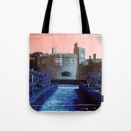 Sundown Castle Tote Bag