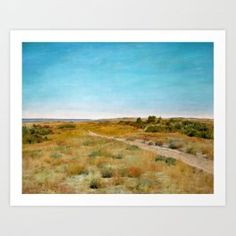 William Merritt Chase - First Touch Of Autumn - Digital Remastered Edition Art Print