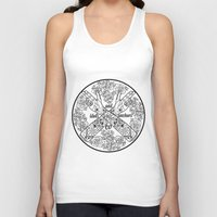 logo Tank Tops featuring Logo by Dan PeaseIllustration