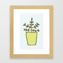 Greenie Framed Art Print