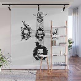 Appetite for Skulls Wall Mural