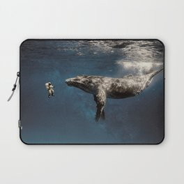 we exist in the same exhale. Laptop Sleeve