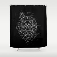 renaissance Shower Curtains featuring Renaissance by Sphynx Collective