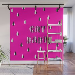 CRY BABY Wall Mural