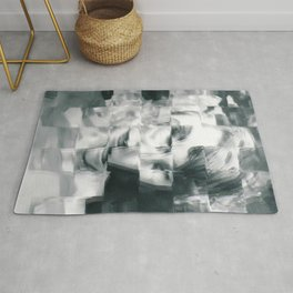 Young woman Rug