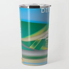 Der Rhein, Germany - Skyline Illustration by Loose Petals Travel Mug