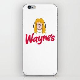 WAYNE'S SINGLE #2 iPhone Skin