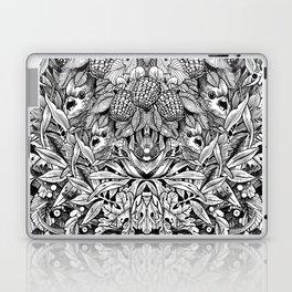 Summer Foliage, Black and White Laptop & iPad Skin