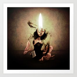 "The Poet ""Flame"" Art Print"