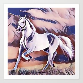 The American Paint Horse Art Print