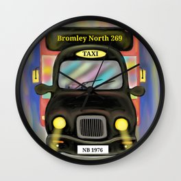 London Commute Wall Clock