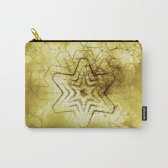 Star mandala in gold Carry-All Pouch