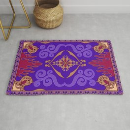 Aladdin Purple Magic Carpet Rug