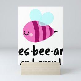 Les-Bee-An Pride Mini Art Print