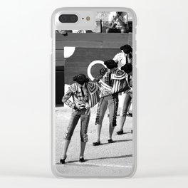 The Die is Cast Clear iPhone Case