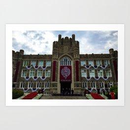 Fordham University Commencement Keating Hall Art Print