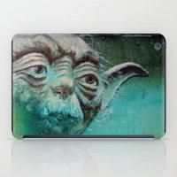 yoda iPad Cases featuring YODA by ARTito